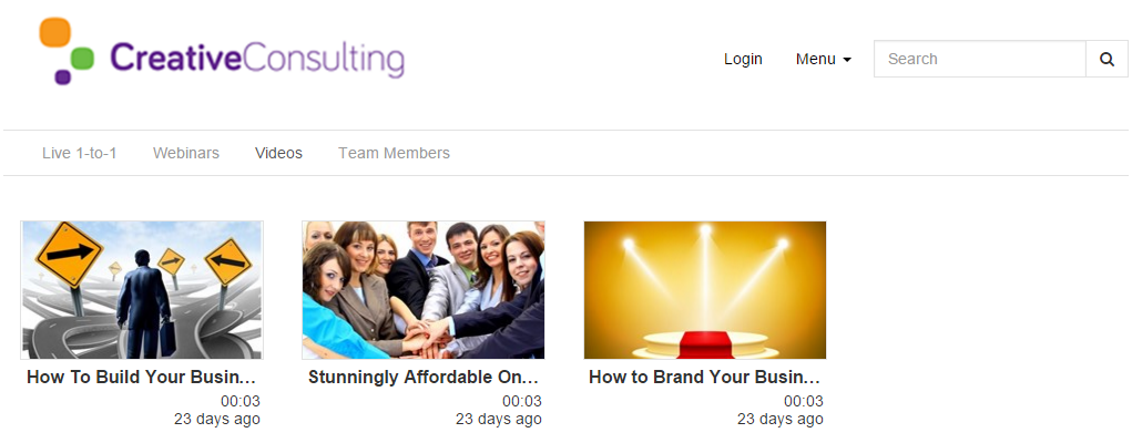 video on demand store consulting