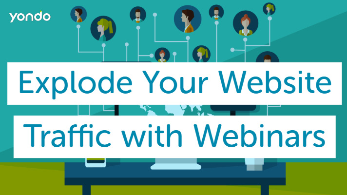 Explode Your Website Traffic with Webinars