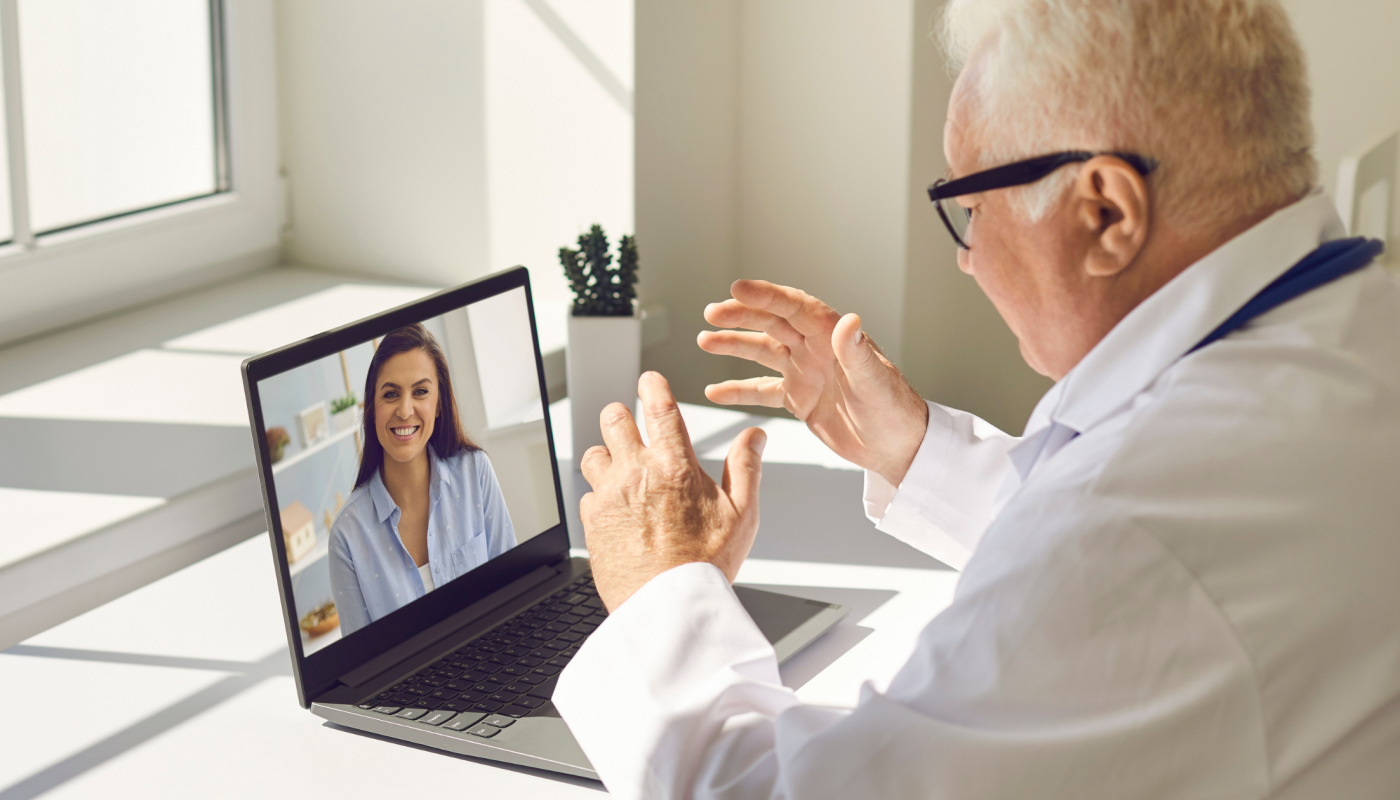 Telehealth Online Consultation with Doctor